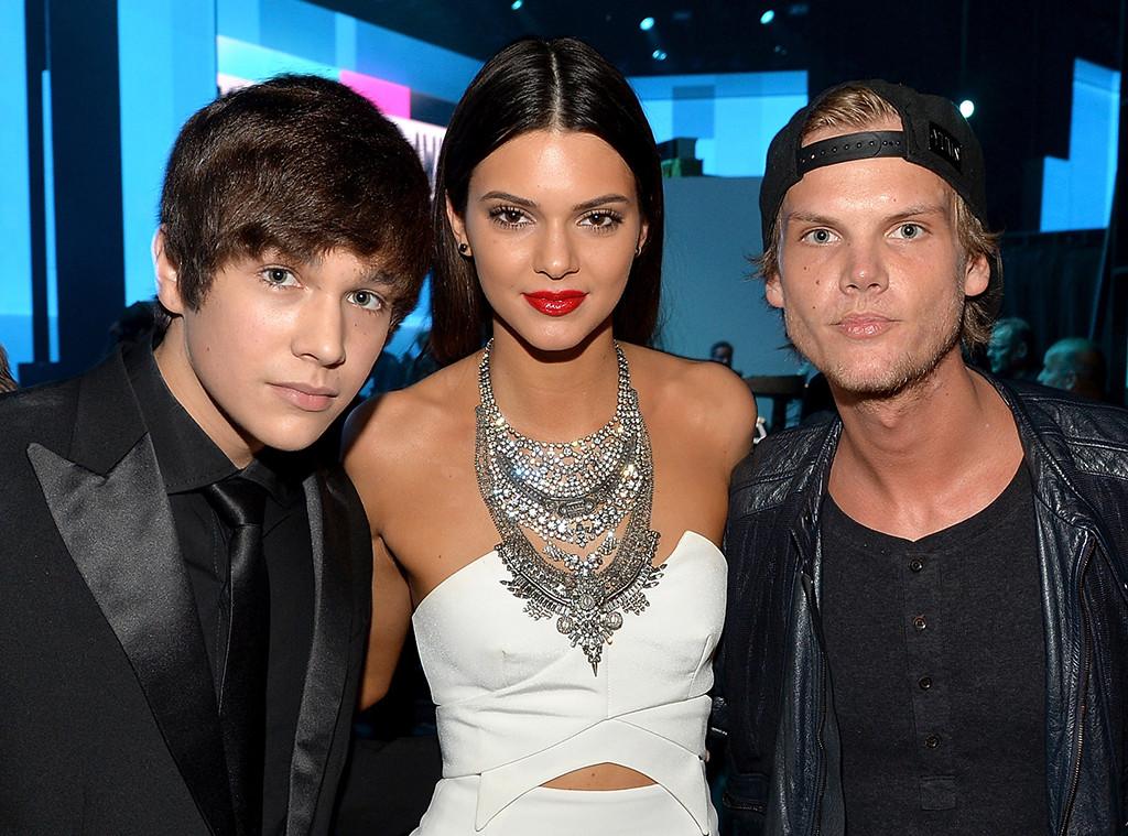 Austin Mahone, Kendall Jenner, Avicii