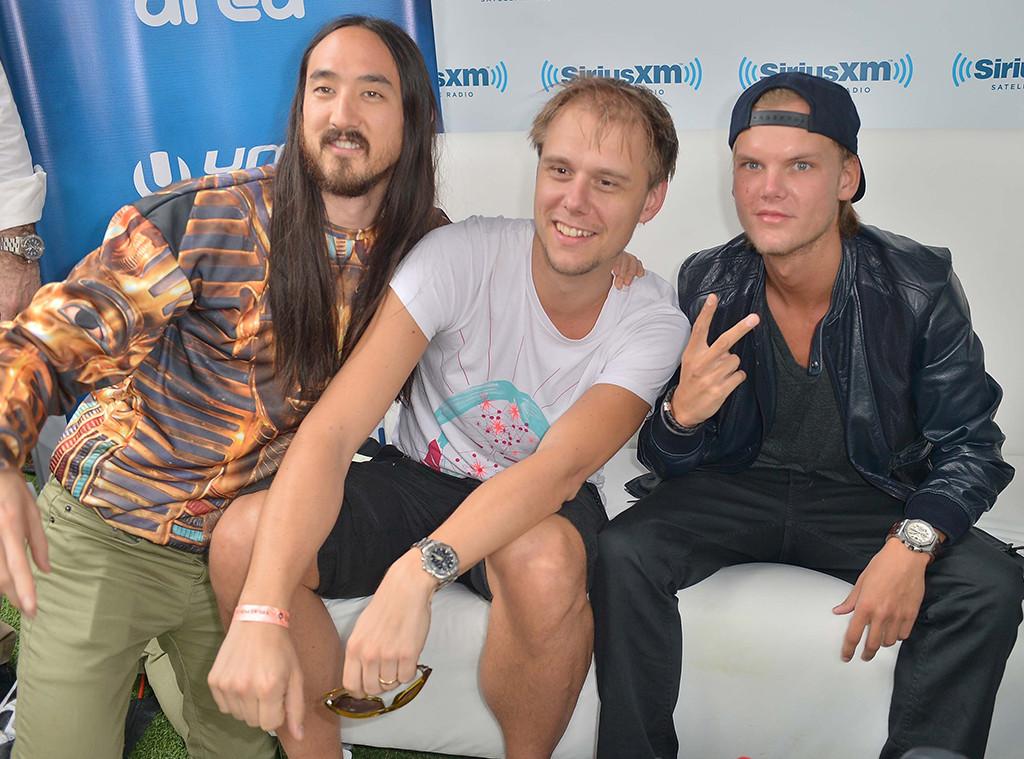 Steve Aoki, Armin van Buuren, Avicii
