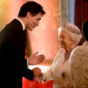 Queen Elizabeth, Justin Trudeau, CHOGM 2018