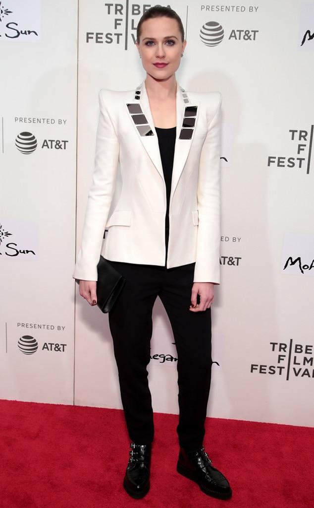 Evan Rachel Wood, Westworld Premiere, Tribeca Film Festival 2018