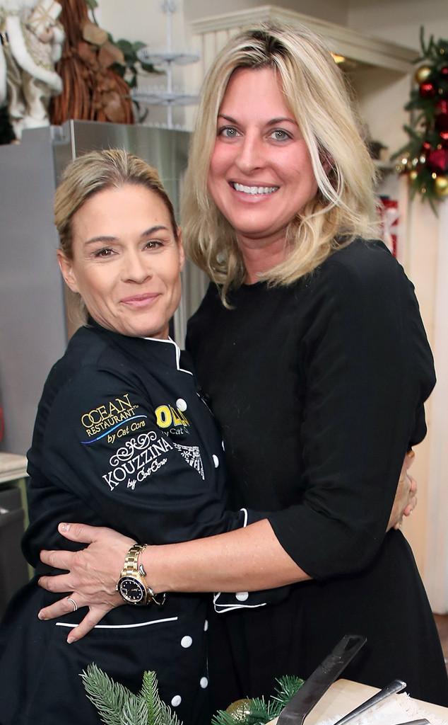Iron Chef's Cat Cora Marries Nicole Ehlrich | E! News