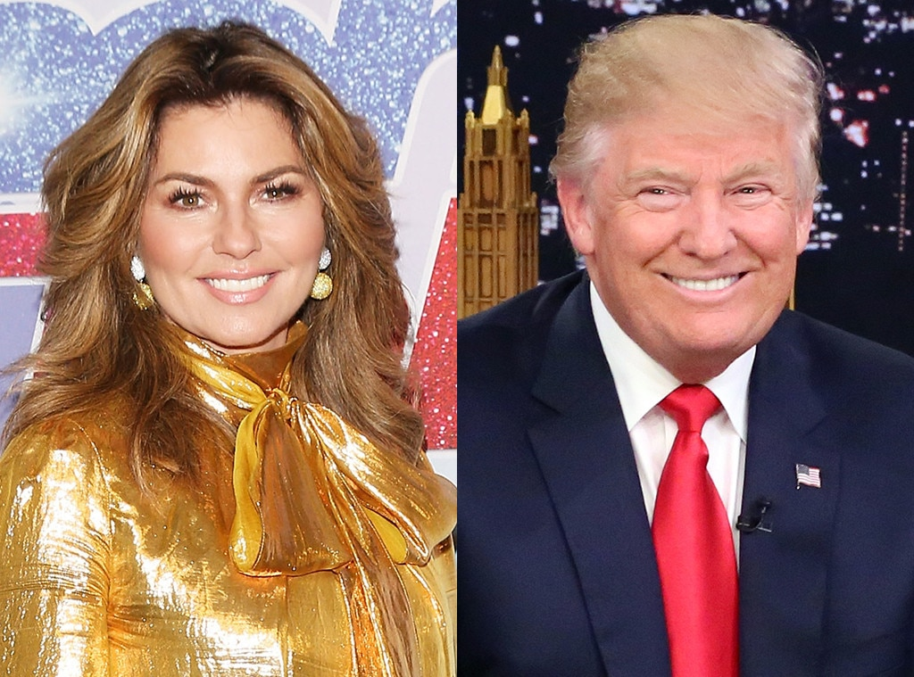 Shania Twain apologizes after saying she would have voted for Donald Trump