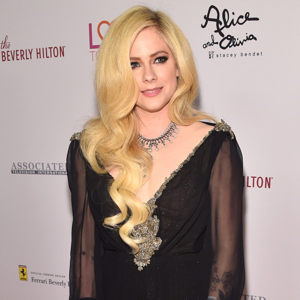 Avril Lavigne, Race To Erase MS Gala