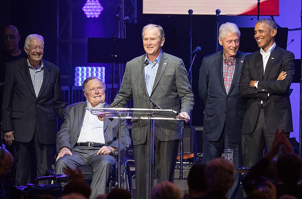 Jimmy Carter, George H.W. Bush, George W. Bush, Bill Clinton, Barack Obama