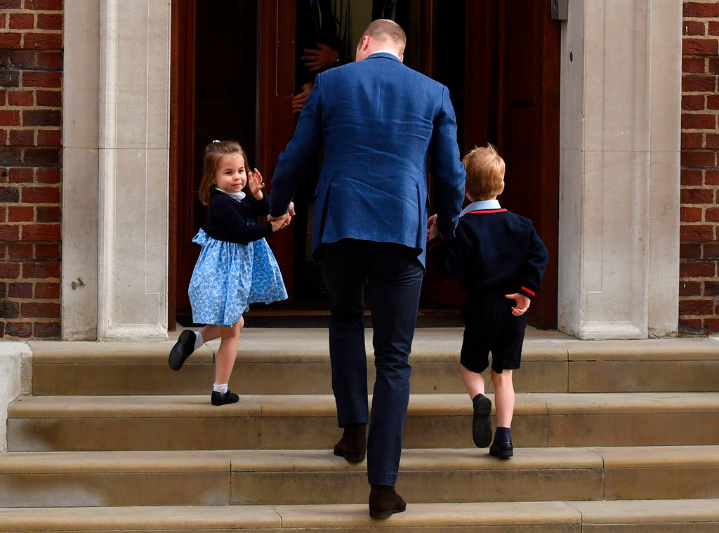 Princess Charlotte, Prince William, Prince George
