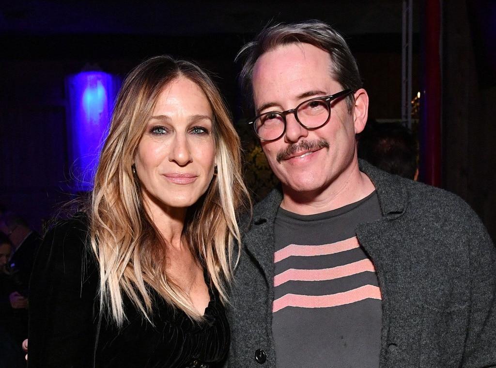Sarah Jessica Parker & Matthew Broderick From Tribeca Film