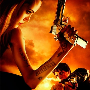 Wanted 2008 Poster, Angelina Jolie, James McAvoy