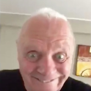 Anthony Hopkins, Dance, Twitter Video