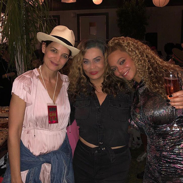 Tina Knowles Lawson, Beyonce, Katie Holmes, Coachella