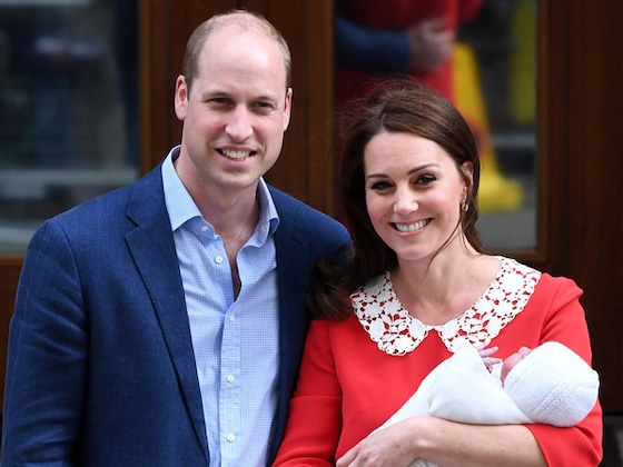 Prince William and Kate Middleton Announce Prince Louis' Christening Date