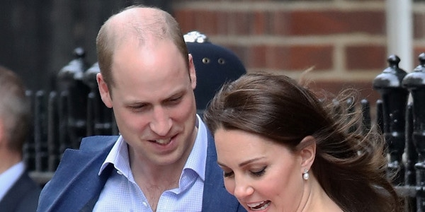 ab0c2651c8 Inside Prince William and Kate Middleton s First Days With Prince Louis