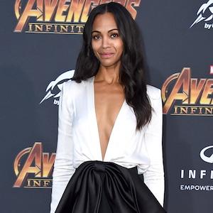Zoe Saldana, Avengers: Infinity War World Premiere