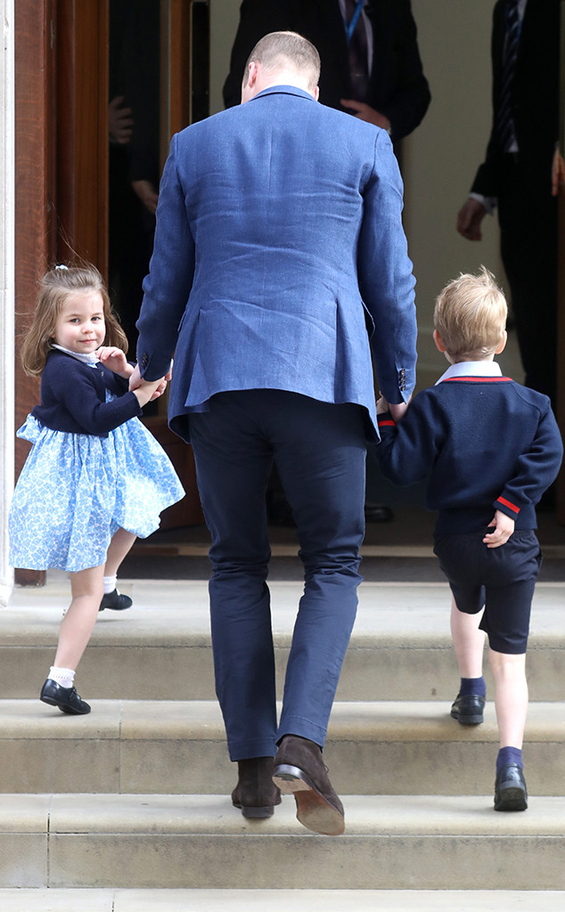 Prince William, Prince George, Princess Charlotte