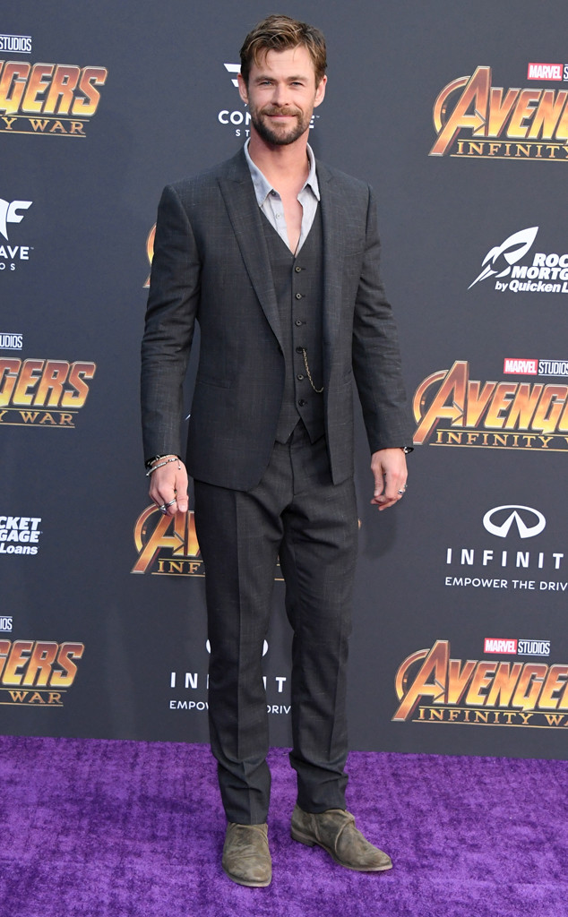 Chris Hemsworth, Avengers: Infinity War World Premiere