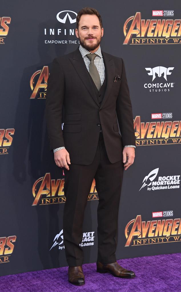 Chris Pratt, Avengers: Infinity War World Premiere