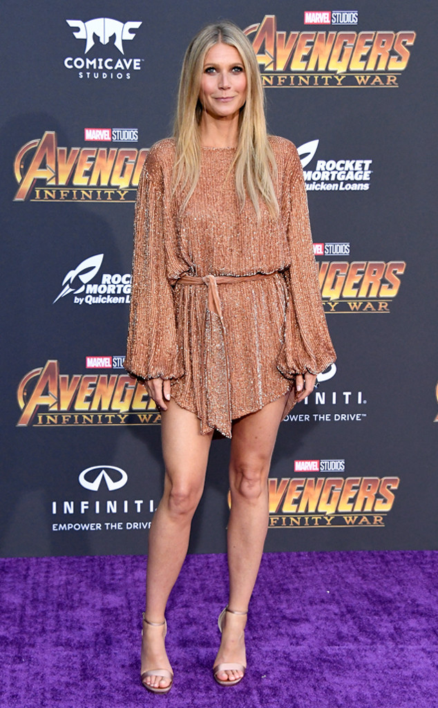Gwyneth Paltrow, Avengers: Infinity War World Premiere