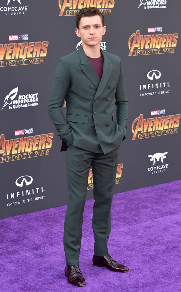 Tom Holland, Avengers: Infinity War World Premiere