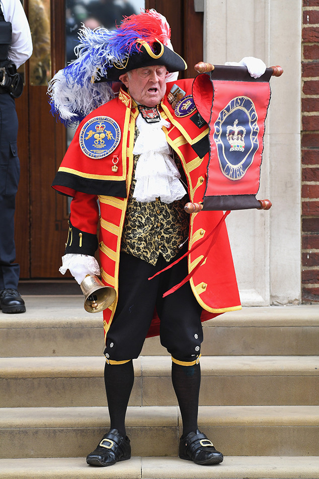 Town Crier, Royal Baby
