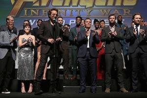 Robert Downey Jr., Avengers: Infinity War Premiere