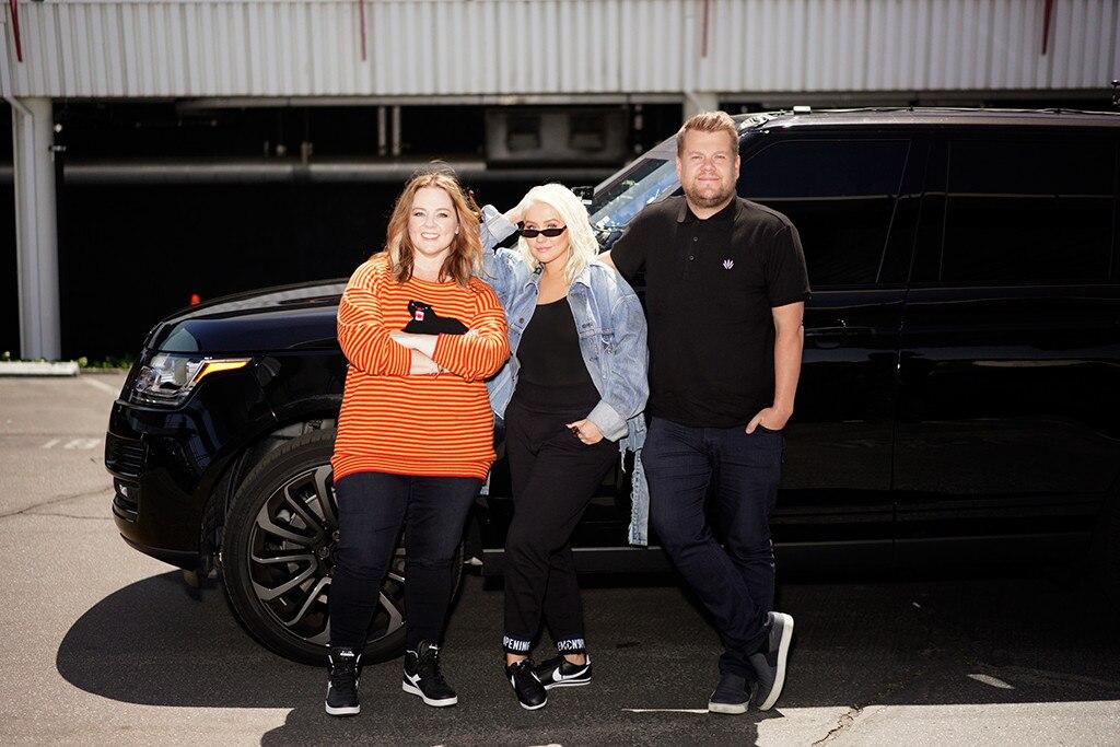 Christina Aguilera's 'Carpool Karaoke' gets gate-crashed by Melissa McCarthy