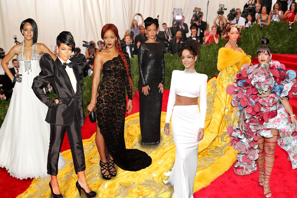 Rihanna's Met Gala Style Through The Years