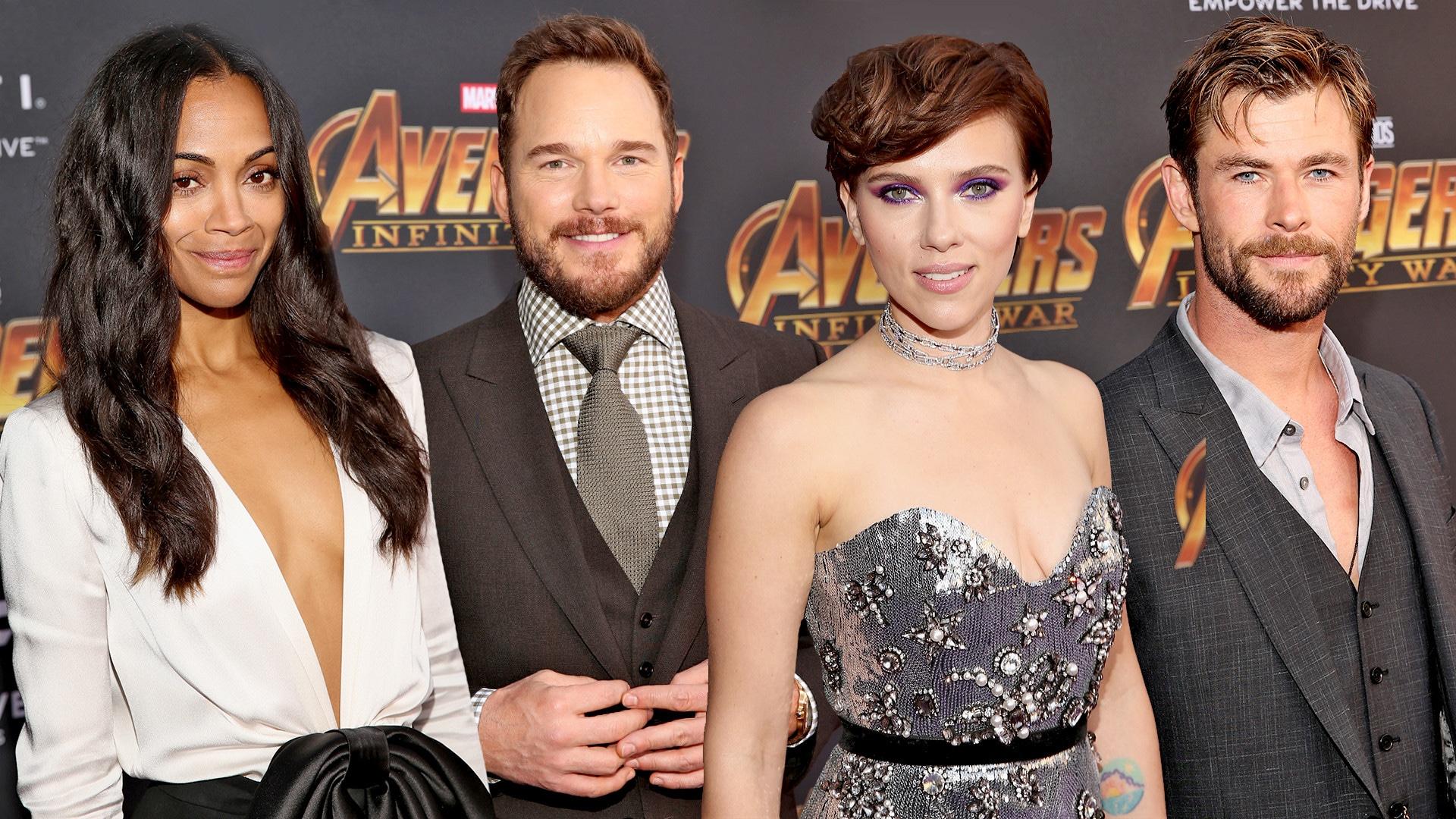 Avengers: Infinity War, Premiere