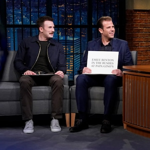 Seth Meyers, Chris Evans, Scott Evans