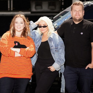 Christina Aguilera, Melissa McCarthy, The Late Late Show With James Corden