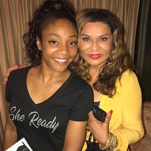 Tiffany Haddish, Tina Knowles, Instagram