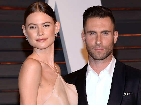 Behati Prinsloo Shares First Photo of Baby Gio's Face in Father's Day Note to Adam Levine