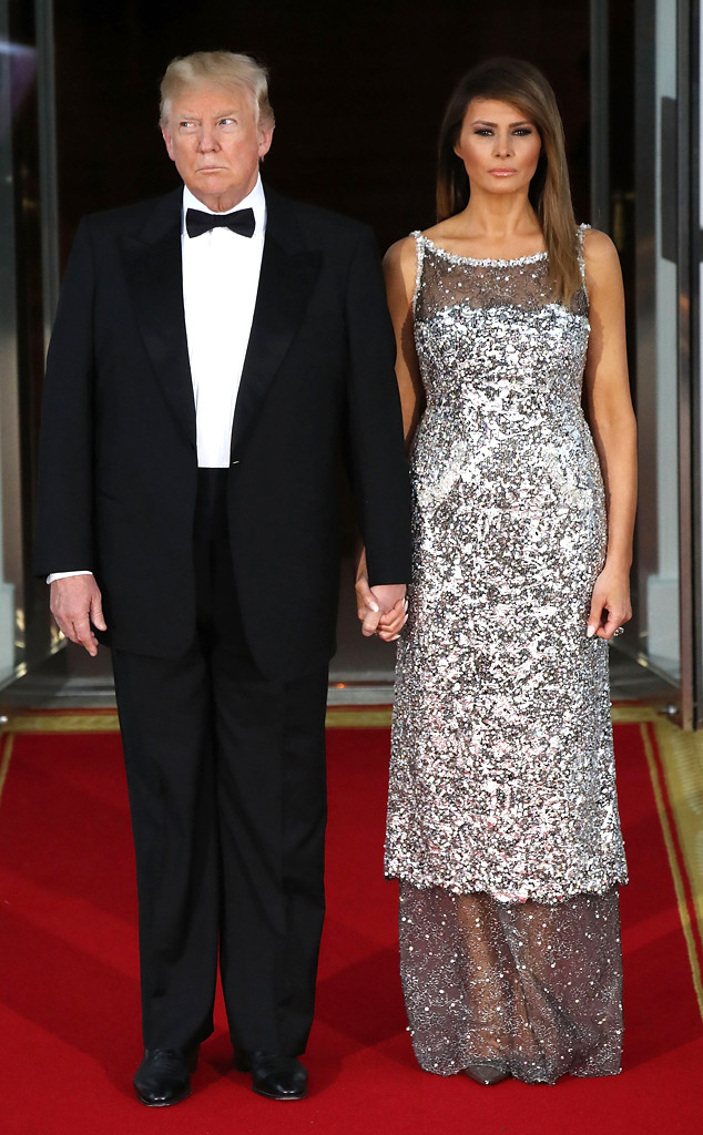 Melania And Ivanka Trump Bring The Glamour With Dramatic