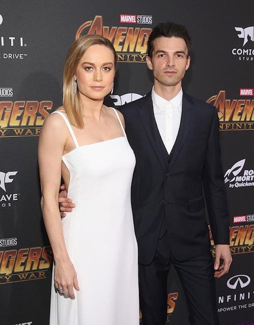 Brie Larson, Alex Greenwald, Avengers: Infinity War Premiere