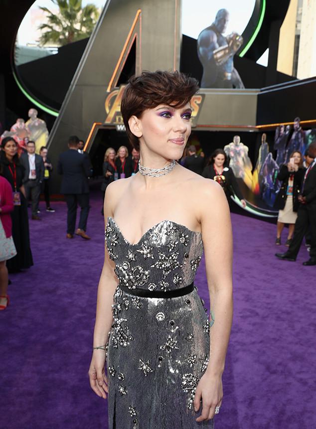 Scarlett Johansson, Avengers: Infinity War Premiere