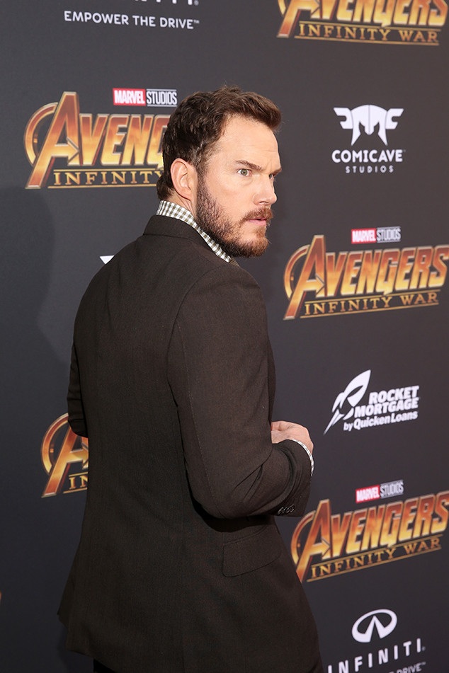Chris Pratt, Avengers: Infinity War Premiere