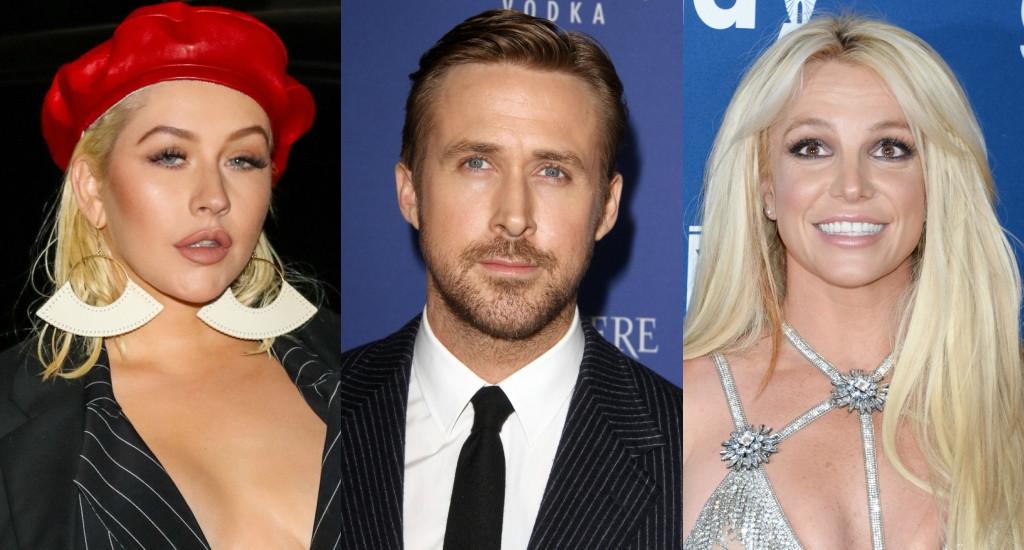 Britney Spears, Christina Aguilera, Ryan Gosling