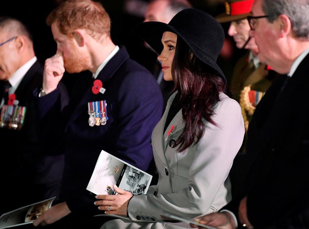 Prince Harry, Meghan Markle, Anzac Day