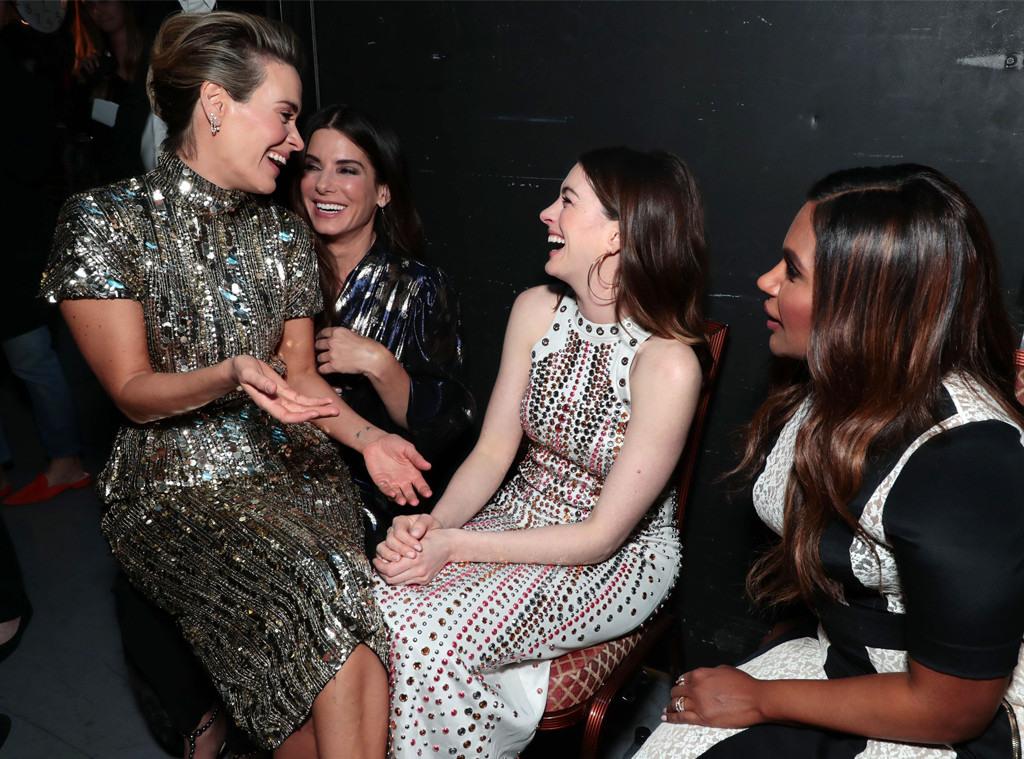 Sarah Paulson, Sandra Bullock, Anne Hathaway, Mindy Kaling