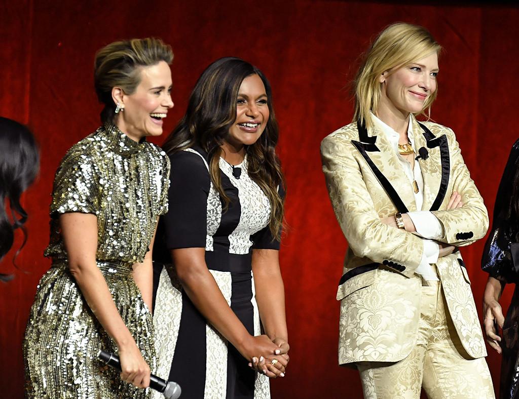 Sarah Paulson, Mindy Kaling, Cate Blanchett