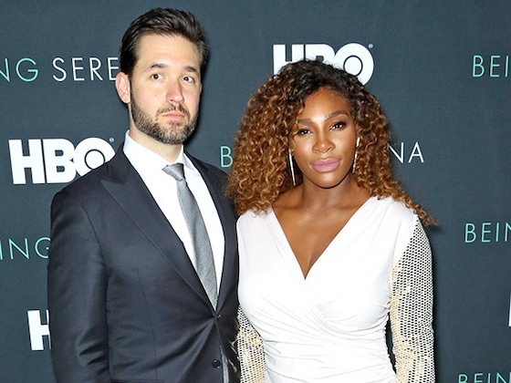 Serena Williams' Husband Shares Never-Before-Seen Wedding Photo on Their First Anniversary