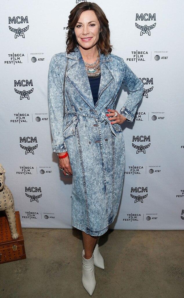 Luann de Lesseps, 2018 Tribeca Film Festival