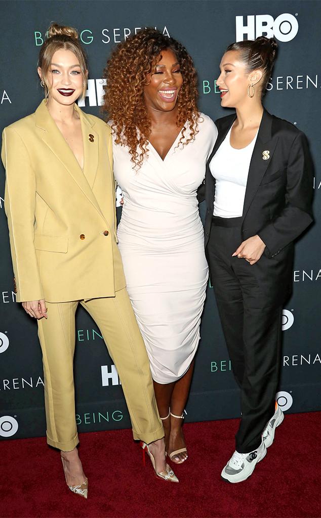Gigi Hadid, Serena Williams, Bella Hadid