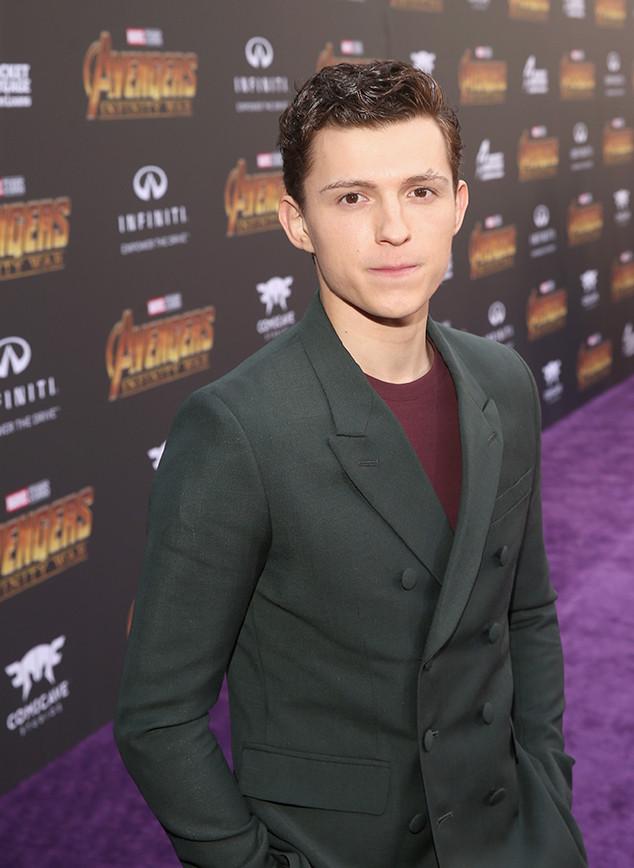 Tom Holland, Avengers: Infinity War Premiere