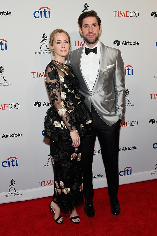 Emily Blunt, John Krasinski, 2018 Time 100 Gala