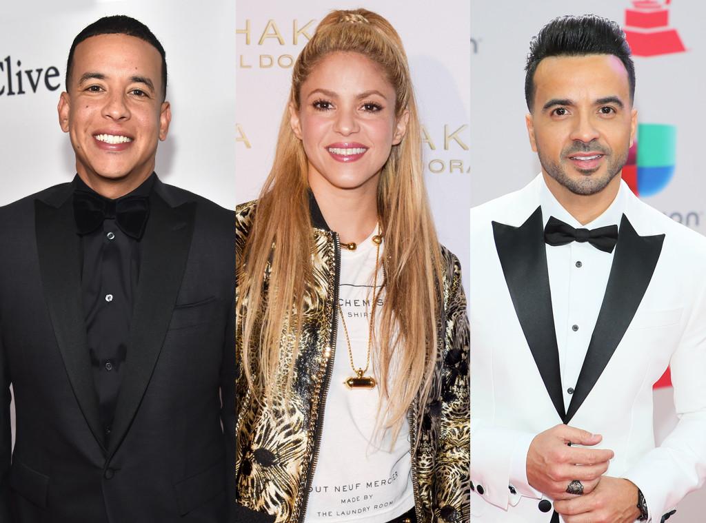 Luis Fonsi, Shakira, Daddy Yankee