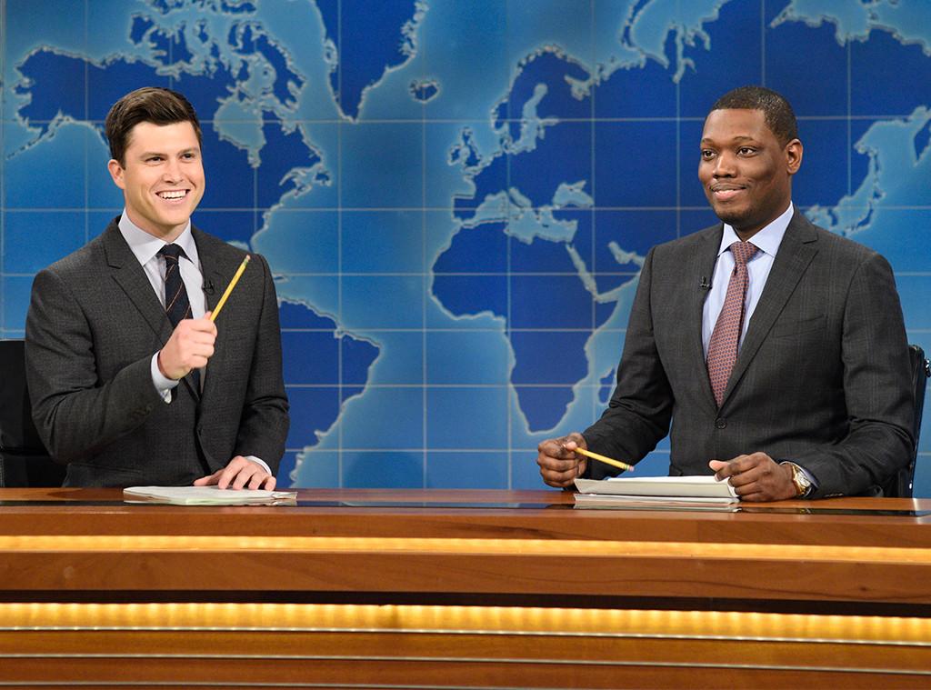 Colin Jost, Michael Che, Weekend Update, Saturday Night Live