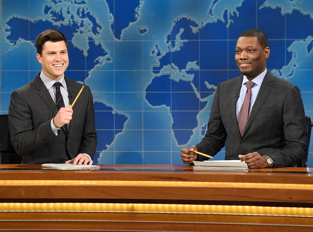 Michael Che Sends a Clown to Colin Jost's Intimate ...
