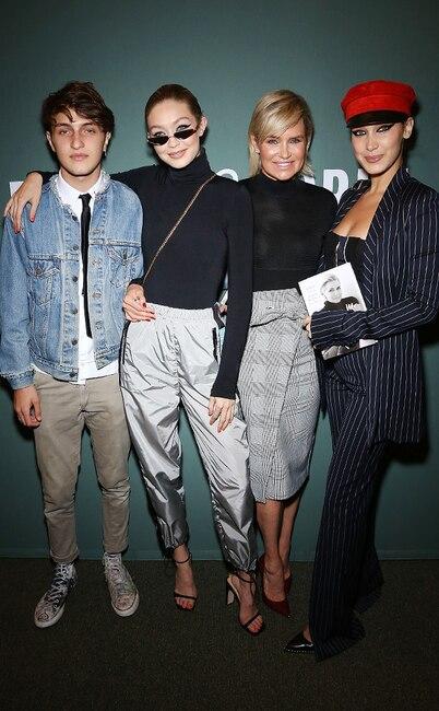 ESC: Gigi Hadid, Bella Hadid, Yolanda Hadid