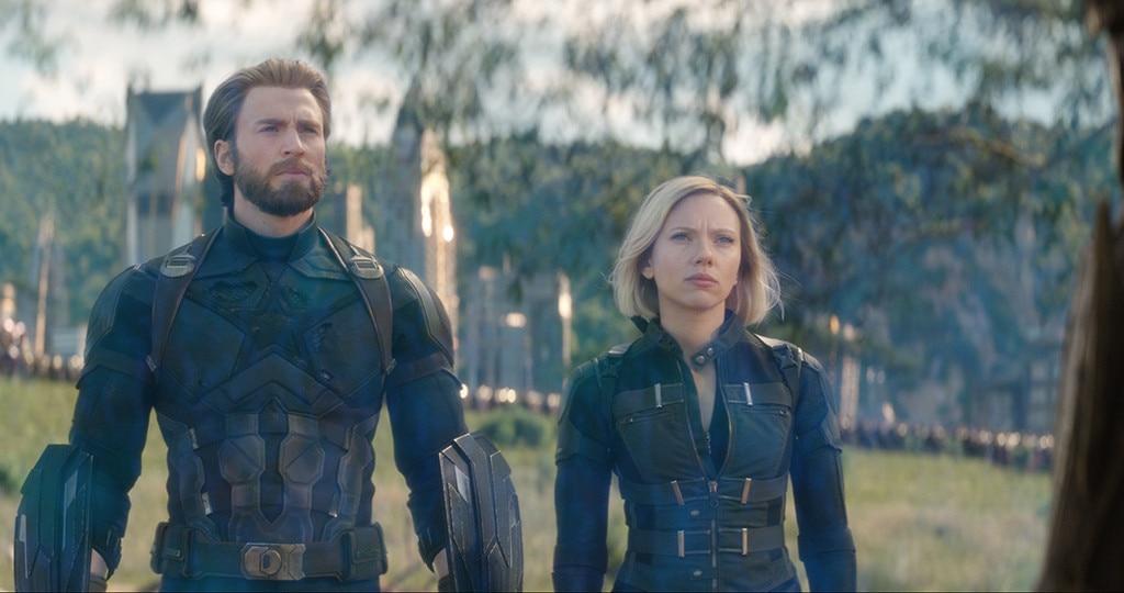 Avengers: Infinity War, Chris Evans, Scarlett Johansson