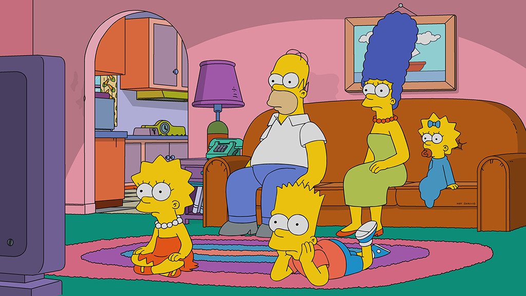 The simpsons makes tv history with 636th episode e news - Les simspon tv ...