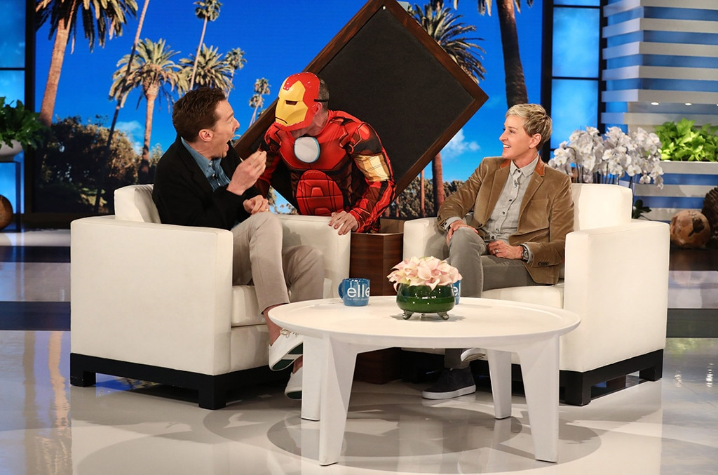 Watch Iron Man scare the bejeezus out of Benedict Cumberbatch